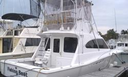 This 40? Luhrs Convertible ?Special Edition? Tournament Sportfisherman 1999 is located in New Haven, CT. An outstanding vessel, this yacht will satisfy the most discerning captain and provide endless great memories out on the water. Fitted with