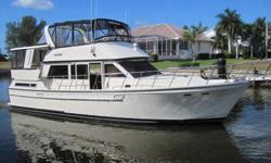 1987, 46' JEFFERSON 46 SUNDECK (AUGUSTINE) Just Listed at Only $148,500 See Video! Twin Cummins 210HP BT5.9 Diesels You will find this beautiful, captain maintained, 1987 46' JEFFERSON 46 SUNDECK to be in simply fantastic condition! AUGUSTINE is a two