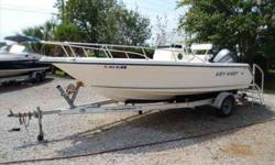 2004 Key West 2020 CENTER CONSOLE This lightly used center console is a one owner boat that was bought new from this store. Boat comes with the trailer and a Garmin GPS168/sounder. Owner recently purchased another boat and needs this boat sold. BRING