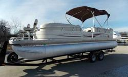 2008 SUN TRACKER PARTY BARGE 24 feet REGENCY For Sale by Midway Power Sports - Spokane, Missouri Exterior Color