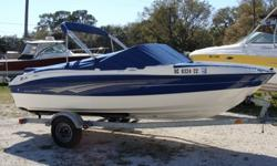 3.0 Mercruiser, Caravan trailer with spare tire, Bimini,Sirius XM am/fm, Coast Guard Package, tube and towline. Price just reduced.