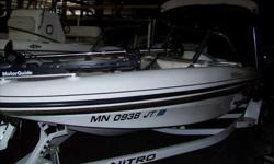 2004 Bass Tracker 188 NITRO SPORT This 2004 188 Nitro Sport is as versatile as they come for Minnesota boating. With it's deeper hull structure and the easily interchangeable fishing to pleasure design it is ready to tackle any and all on water