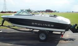 We have a great looking and running Bay liner 175br with a 3.0 engine feel free to call or stop in for more information any time between 8:30-6 5501 Neubert Rd Appleton, WI 54913 (920) 734-9994