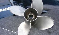 4 blade 13.75X21 stainless steel Mercury Propeller double cupped 150.00OBO 540-244-9076Listing originally posted at http