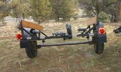 """Home built boat trailer for small boat, Or could be convered to a utility trailer quite easily.15"""" tires. Has fenders, lamps. Rollers, Guides, And Winch, $150Please call 541-416-9377Thank YouListing originally posted at http"""