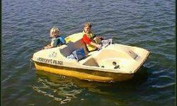 Selling my Nautica paddle boat....2 - man capacity....decent shape....needs a little tlc....great winter project and be ready for summer fun....these kinda paddle boats retail new at Wal-Mart for $650. ....buy mine for $150./best offer ...e-mail me at