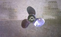 I have a rampage brand stainless steel propeller that came off an alpha one outdrive. Propeller has no damage comes with all hardware to install it is a 14.5x18 RH. Im asking $150 Call or txt 502 472 5829Listing originally posted at http