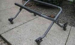 """Like New Wave Running Stand.... Holds 900lbs. , Powder Coated Grey, No Rips in Coatings....""""EASY ROLL"""" Call 360-904-1110Price is Firm.... Cash talks, this was a big dollar standListing originally posted at http"""