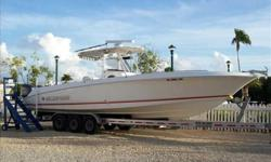 2007 Wellcraft 35 SCARAB Deep-V, high speed fishing rig with a great rough water ride. 50 knots + top speed For more information please call