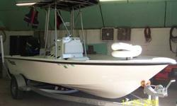 I have a 2007 Mako 19 foot boat for sale with a center console, T-top and galvinized trailer that are in good condition. It has a 115 hp Mercury outboard motor on the back. If you have any questions, want more pictures or want to see the boat please