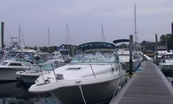 1994 30' Searay Sundancer. Twin 250 hp mercruiser engines. Hull and cabin in great condition. Cockpit in fair condition Engines run great. Will provide more info upon request