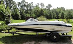 For sale is a gorgeous 2007 Tahoe Q4. This boat has less than 125 hours on its original 4.3L V6 engine. Has been kept under covered carport. All Cylinders on engine have been recently checked and boat puts out a little over 180 hp. Boat cruises over 55