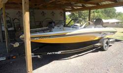 Has custom cover never been out in weather, cd player, life jackets, ski pole, trolling motor, 150 mercury optimax with tilt and trim, etc... in awesome shape runs and drives great looks brand new call jarrod at 334-208-6288 or email me at (click to