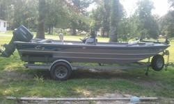 Must go ASAP. I have a 2009 G3 1966ccDLX with transferable lifetime hull and 3 year engine warranty. This has been a great boat but it has to go. Boat has 2 large storage boxes in the bow, bait well under center console seat, large ice chest seat with