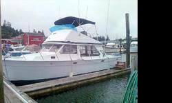 Legendary 1974 Tollycraft 34' Sportfisher Sedanwilling to trade for classic car.This is a lot of boat for the money.http