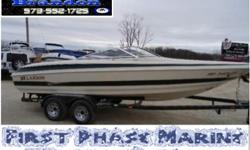 2001 Larson 230 LXI This is a very nice bowrider equipped with an upgraded 5.7L Volvo Penta, SX drive, bow and cockpit cover, convertible top, am/fm stereo, super sport seating, u-wrap bench seat, tandem axle trailer, and more. Please call or e-mail for