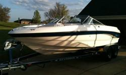 This is a very nice 2002 Chaparral 200 SSe Ski boat. It is loaded with features and is ready to hit the lake today. It features a very powerful 5.0L V8 engine mated to a reliable Volvo Penta Outdrive. The boat has only 134 total hours on it. It has been