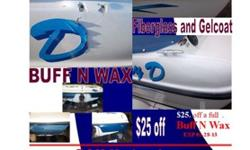 We service all major brands of inboards and outboard with factory trained mecanics. We also do outboard sales, boats and trailers sales. What is hard to find is someone who can produce quality fiberglass and gel coat repair. So for all your boating needs