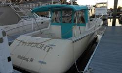 2005 True North 33, built by Pearson Yachts. Classic downeast lines from the plumb bow, eye catching tumblehome on the quarters, to the curvaceous stern. Up galley, with with all the ammenities needed for cruising. The collapsible dinette sleeps two, an