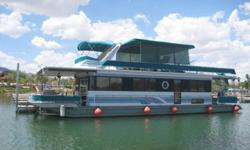 http://www.gotwaterrentals.com/Consignment_1995_Stardust_Cruiser_Houseboat_54.htmlThis beautiful Stardust is ready for your own personal voyage. Excellent condition inside and out, fully furnished and ready to go...just bring your food and drinks! Live
