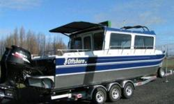 ?Brand New? 2009 BLUE 30? TJ Offshore Powered by twin 175 HORSEPOWER Suzuki motors w/stainless steel propellers This boat is equipped with