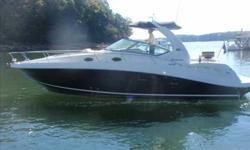 2007 Sea Ray 340 SUNDANCER This Beautiful Black Hull 2007 340 Sundancer is new to the market. Located in a covered slip on fresh water Lake Lanier this boat is ready to be delivered to the next owner. The boat has 100 hours on her 8.1 S Horizon Engines.