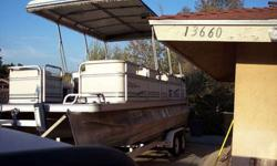 Top of the Line Ercoa Flagship Pontoon Boat, V6 Mercruiser, newly rebuilt Alpha 1 Outdrive, Restroom on Board & has Icebox & Sink, Great on Gas, Alpine Stereo, seats 12 easily, runs great, Ziaman Trailer with new tires. Contact Bruce between 9am & 7pm