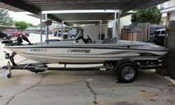 19 ft fiberglass bass boat - 2006 Stratos 285 Pro XL with 150 Evinrude ETEC with 3 blade stainless steel raker II prop for sale. Motor has approximately 50 hours on it. Boat is in excellent condition. Lowrance LMS 522c iGPS electronics. Minn Kota Maxxum