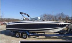 1996 Cobalt 252 BR This is a very nice bow rider equipped with a 7.4L volvo-penta duo prop, bow and cockpit cover, bow and cockpit carpet, bimini top, docking lights, enclosed head, am/fm stereo, and more. Please call or e-mail for more information.