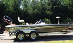 2005 NITRO 898 Bass Boat in fabulous condition. 2 Pedestal Seats and 3 Riding Seats. All electronics are working. This twenty foot 4 inch beauty has less than 100 hours on its Mercury Optimax 150. This boat package includes