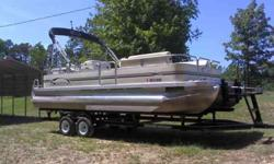 2006 23ft Sedona pontoon party barge. 3.0 Mercury Mercruiser inboard/outboard Immaculate!! See 125 Pictures at