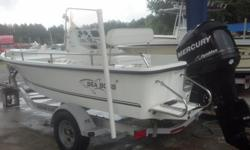 2007 Sea Boss 190 Bay with 2007 Mercury Optimax 115hp 2-Stroke and Trailer As Shown Included In Sale! *Reasonable Offers Will Be Considered* http