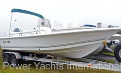 The Sea Pro SV 1900 CC is a nice quality bay boat with the ability to head offshore when conditions warrant. The SV1900 Bay boat does very well for its size in rough water. the 115 4 stroke is a perfect match & should push the boat in the mid to upper