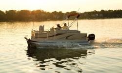 2013 Qwest Edge 7518 CR Pontoon Boat by Apex Marine Only $16,995.00 (Special Order Only!) ***Price Includes **** * New 2013 Qwest Edge 7518 CR with the Long List of Standard Features... * Mercury 40hp EFI Four Stroke with Pre Rig * Custom Float On Trailer