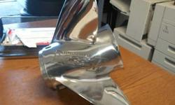 Chrome propeller 175.00 Firm call RJ@317-966-1651Listing originally posted at http