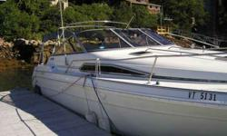 This is a 1989 Sea Ray Sundancer Express 28ft. with twin 350 Mercruisers. This was a lake boat up until this June. It is in very nice cond. with Mercruiser outdrives. It does not come with a trailer but have someone to move it very reasonably. This boat