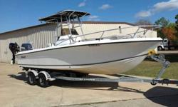 2000 Angler 22-B Full Transom w/ Motor Bracket2001 200 HORSEPOWER Yamaha Saltwater Series OX-66 2007 Tohatsu 9.8 kicker - four StrokeGalvanized Tandem Axle Trailer.Garmin GPSmap 3206, VHF radioBought this boat from American Yacht Sales in 2006. It was a