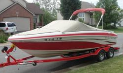 2007 Tahoe Q6 SF, 20.5' Length, 8' Beam, 4.3 MPI (fuel injected, 220 HP) Mercruiser pushes this boat over 52 MPH with ease. Comfortable, clean boat in great shape inside and out, dealer serviced, and 13 months of warranty coverage in place! All