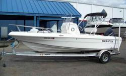 2005 Sea Fox 20 CENTER CONSOLE Very nice Sea Fox Center Console. Wide open side floors make getting around the boat very easy. Two coolers, live wells, rod storage; this boat is ready to fish. Evinrude 150 will get you on the fish in a hurry! Stop in and
