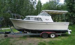 Call James at 1969 24' Tollycraft Royal Express w/Top Cover Specifications