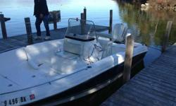 2005 20.5 Aquasport Ospry Bay Johnson 175hp with single axel roller trailer with brakes. Boat was a one owner boat from Lake winni. has only see freshwater use only. Trailer might have 50mis on it and boat has low hours. This was a female owned. PLEASE