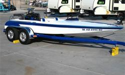 700+ HP Supercharged 548c.i. Dart Engine, Berkeley Jet w/ Diverter & Droop Snoot & Ride Plate, Bassett Dry Headers, IMCO Stainless Steel Fuel Tanks and More! Super Nice! Please Ask Our Salesmen For More Details. Includes Tandem Axle Trailer!