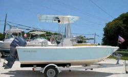 Equipment & Features 2006 150HP Yamaha 4-Stroke O/B with low hours T-top with Radio Box Leaning Post GPS Stereo CD Player Livewells Fishbox Handrails Dive platform w/ladder Aluminum Trailer Nice! Turn Key!