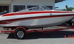 Clean 18 foot used bowriders don't come along very often!!! Call Mike 815-814-8291 Powered by a Mercruiser 4.3L Alpha 1. Other equipment included