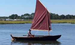 17' Northeaster Dory sail and rowI build this dory from a Chesapeake Lightcraft Kit in the summer of 2015.It is marine plywood saturated with epoxy.It has the optional lug sailing rig.Looking to sell so I can build another boat, love to build