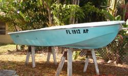 10 foot fiberglass boat - no title$185 obo call 941-920-6860 betw 9am and 9pm