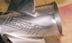 SS Quick Silver Laser II Prop.....24 Pitch....Heavy Duty Type