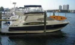 The Regal 3880 Commodore is a full-featured cruiser with style, luxurious accommodations, and performance. She features a large flybridge with full enclosure, open cockpit, and a spacious mid-cabin interior. Whether you are planning a day on water or a