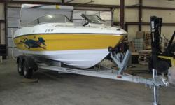 1994, 21 ft WELLCRAFT Eclipse, FRESHWATER BOAT, never touched salt. This boat is in showroom condition. Eclipse was the predecessor of the Scarab and can still hold her own in the performance boat world. Here is a chance to get into a high end game,