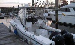1996 Robalo 2660 Walk Around with twin Merc 225's. Well maintained, Boat specs
